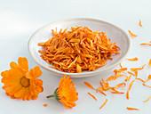 Marigold petals