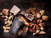 Altbackenes Brot und Brötchen (Resteverwertung)