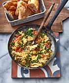 Menemen (Turkish scrambled egg)