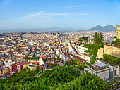 A view of Vomero, Naples, Campania, Italy