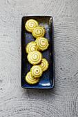 Japanese matcha swirls (sugar-free)