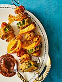Indian tandoori vegetables