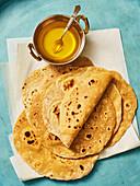 Chapati (Indian unleavened bread)