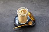 Vegan cashew nut 'Parmesan'