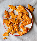 Christmas butter biscuits