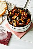 Mussels in a tangoa sauce (Portugal)