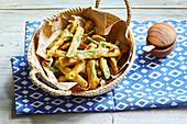 Tempura batter green beans (Portugal)
