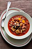 Lisbon-style bean stew (Portugal)
