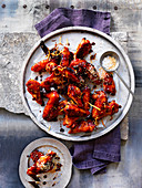 Sticky Wings with Sesame salt