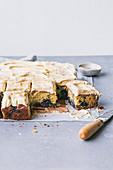 Blueberry Tahini Cake