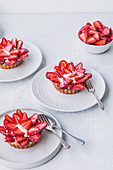 Strawberry Tarts with Creme Patisserie