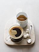 Tea an coffee