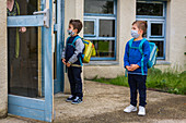 School after confinement during the Covid-19 pandemic