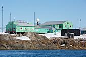 Vernadsky Station, Galindez Island, Antarctica