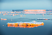 Sea ice off Beagle Island, Antarctica