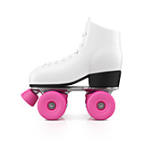 Roller skate, illustration