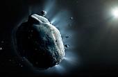 Artwork of Asteroid Phaethon
