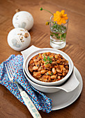 Chilly with Pinto Beans