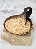 Brown Basmati Organic superpail rice