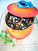 Stew with black beans