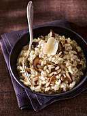 Cep and parmesan risotto