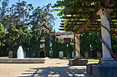 Main building, Inglenook Winery, Napa Valley, California, USA