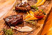 Duroc pork vinter steak