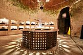 Chalk cellar, Champagne Charles Heidsieck, France