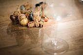 Agraffen Korken, Jahrgang 2008, Champagne, Frankreich