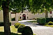 Gebäude, Chateau Lynch Bages, Pauillac, Bordeaux, Frankreich