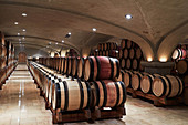 Barrique cellar, E.Guigal, Northern Rhone, France