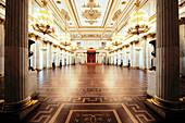 Coronation hall, Eremitage St. Petersburg, Russia