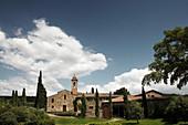 Main building, Pieve Santa Restituta Gaja, Montalcino, Tuscany, Italy
