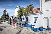 The main building at Quinta Plansel, Alentejo, Portugal