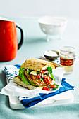 Cajun-Chickenburger