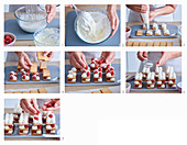 Baking Millefeuille with raspberries