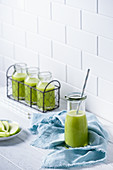 Apple, cucumber and celery smoothie