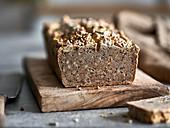 Gluten-free, vegan buckwheat bread
