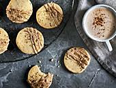 Cookies with chai tea