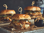 Fried onion burgers