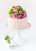 Elderflower strawberry tart