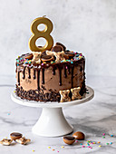 Toffifee Drip Cake