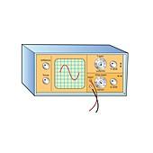 Oscilloscope, illustration