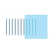 Wave absorption, illustration