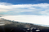 Iceberg A68a, aerial photograph