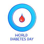World diabetes day, illustration