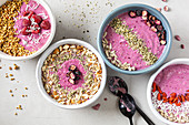 Berry Smoothie Bowls