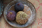 Custard apple fruit and figs