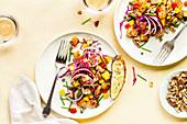 Pecorino Roasted Potato Salad with Toasted Walnut Vinaigrette