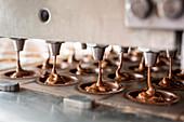Herstellung von Schokoladenpralinen